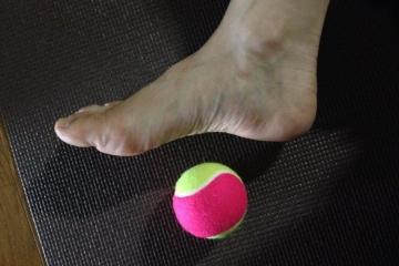 手術後の傷跡と筋膜