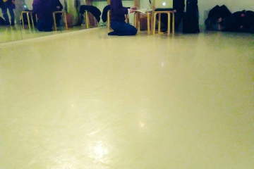 音楽家とダンサー