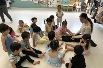 1〜3歳児の身体教育