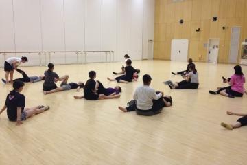 筑波大学ダンス部への指導
