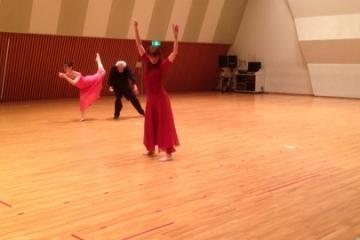「現代舞踊展」照明合わせでした!