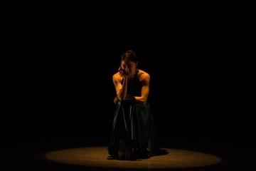 「頷く瞳」舞台写真